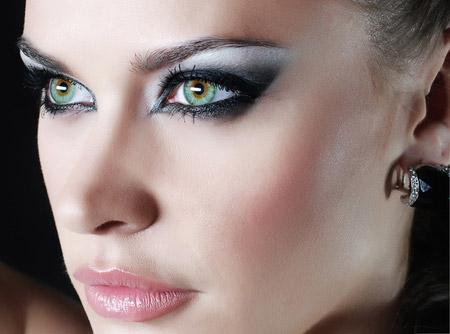 Подбор палитры в зависимости от оттенка глаз