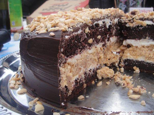 Самый лучший рецепт торта сникерс