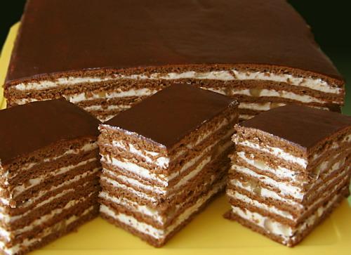 торт медовый простой рецепт с фото
