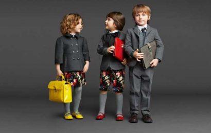 Бренд Dolce&Gabbana выпустил коллекцию формы для школьников