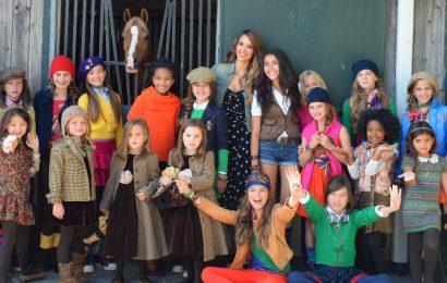 Осенняя коллекция для девочек от Ralph Lauren