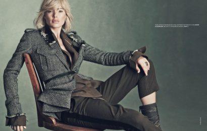 Даутцен Крёз демонстрирует тренды осени для Elle France
