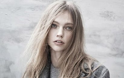 Саша Пивоварова в съемке для The Last Magazine