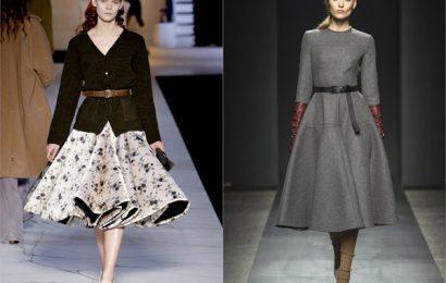 Классика пятидесятых на Неделе моды в Лондоне