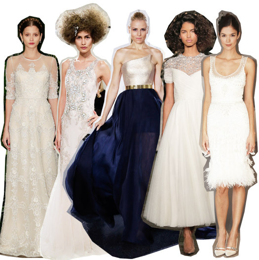 Мода для невест от элитных брэндов: осень в Нью-Йорке