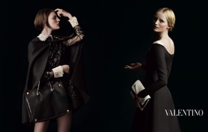 Фэшн-шедевры от Valentino: кампания сезона осень-зима 2013/14