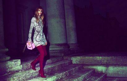 Голландский ангел в рекламной кампании Emilio Pucci осень-зима 2013/14