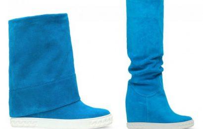Трансформеры в капсульной коллекции обуви Casadei осенне-зимнего сезона 2013/2014