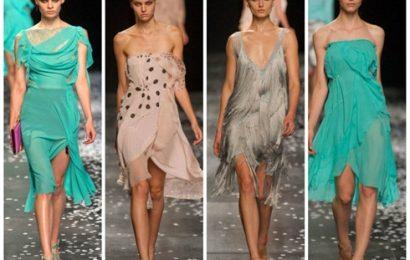 Платья из шифона 2013