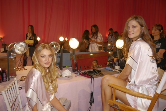 Victoria's Secret Fashion Show 2013/14: бэкстейдж и афтепати