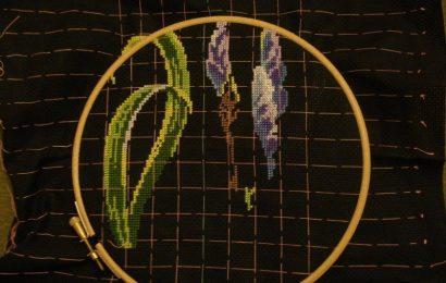 Советы вышивальщицам по черной канве