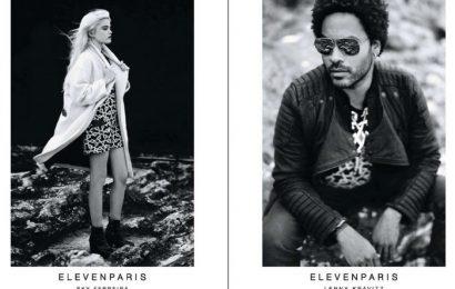 Это рок-н-ролл, детка! Ленни Кравитц и Скай Феррейра для Eleven Paris