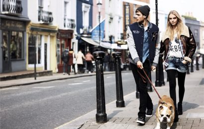 Кара Делевинь в кампании осень-зима 2013/14 для Pepe Jeans London